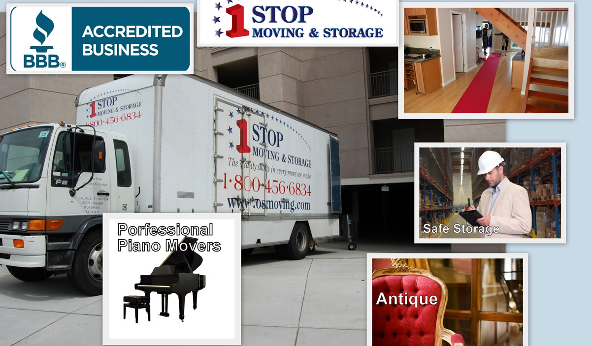 One Stop Moving and Storage